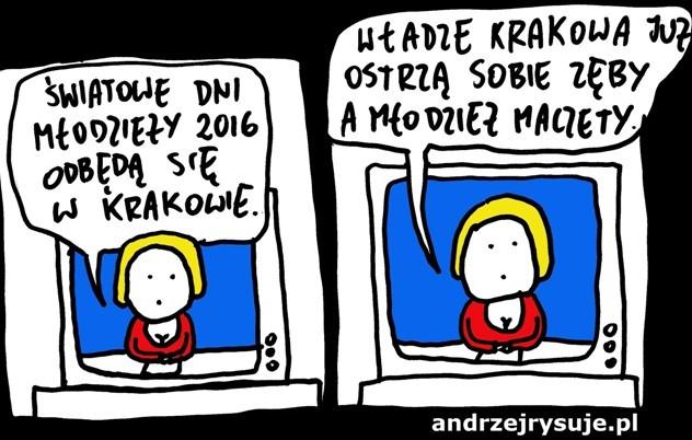 swiatowe dni mlodziezy krakow 2016