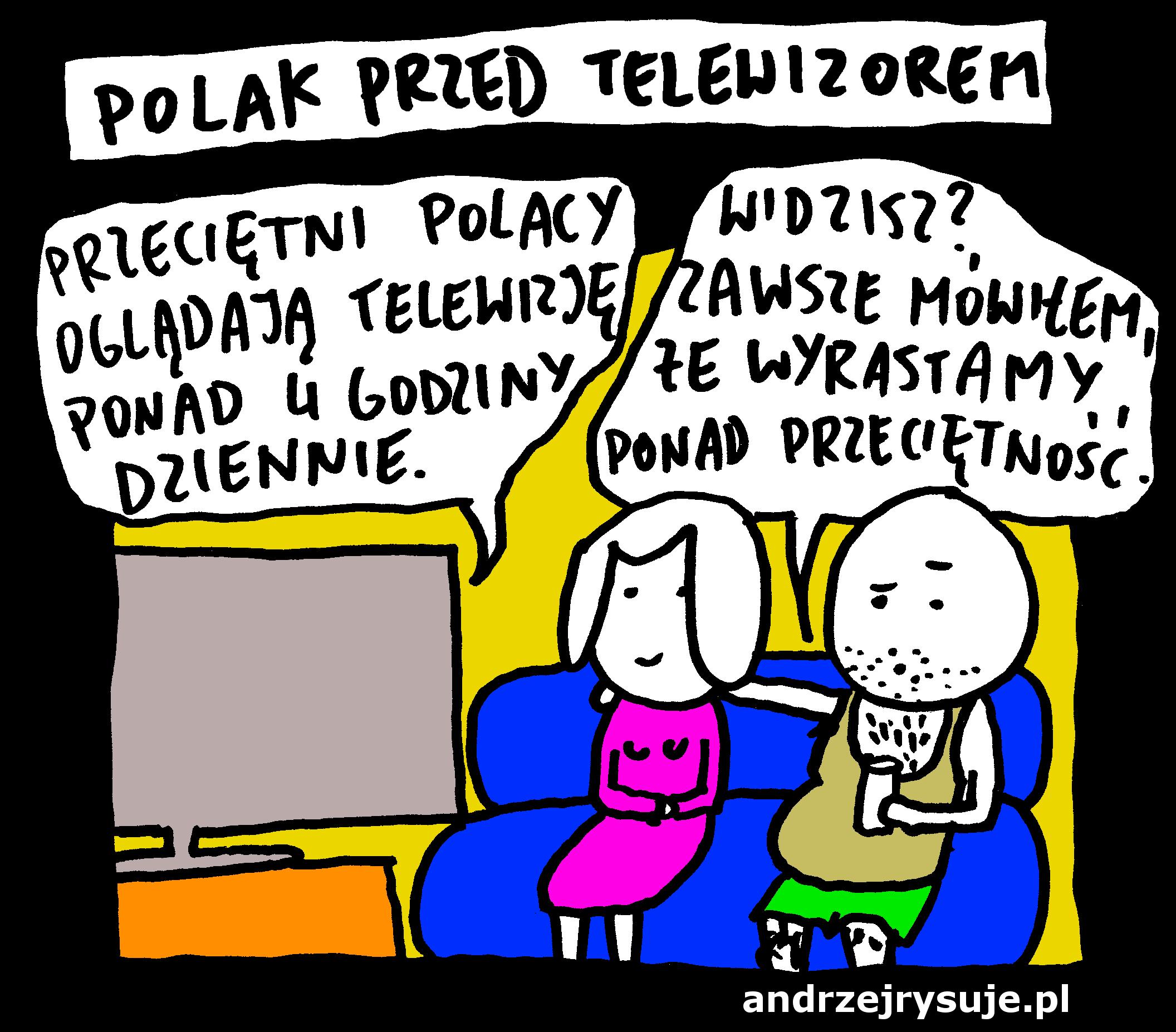 polak przed tv 1