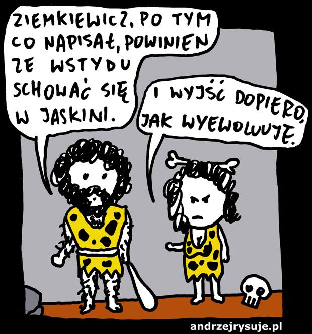 ziemkiewicz_jaskiniowcy