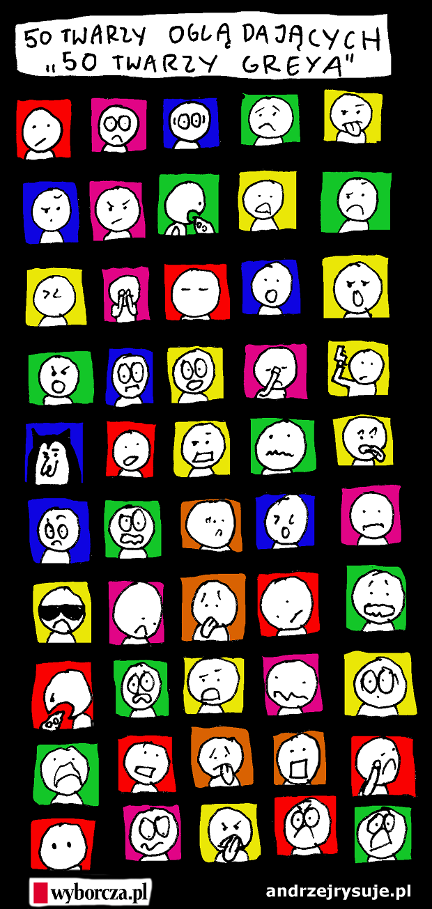 50 twarzy