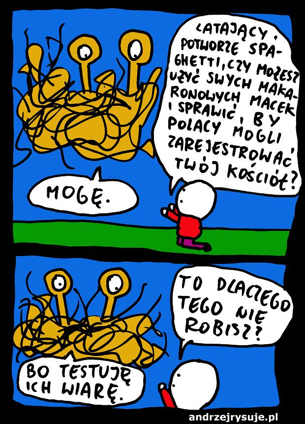 Latajacy Potwor Spaghetti