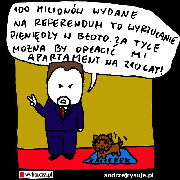 Andrzej Rysuje - 100 milionow w bloto