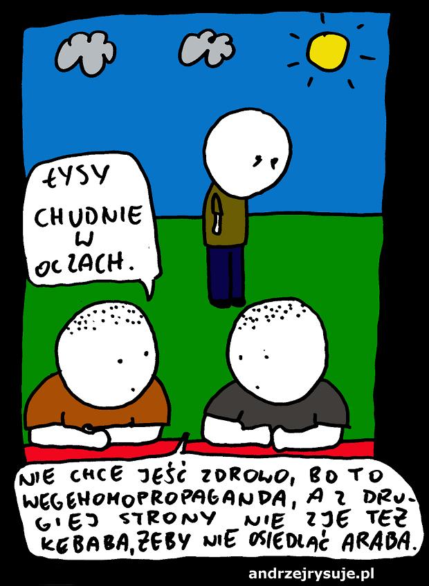 Andrzej Rysuje - Dieta cud