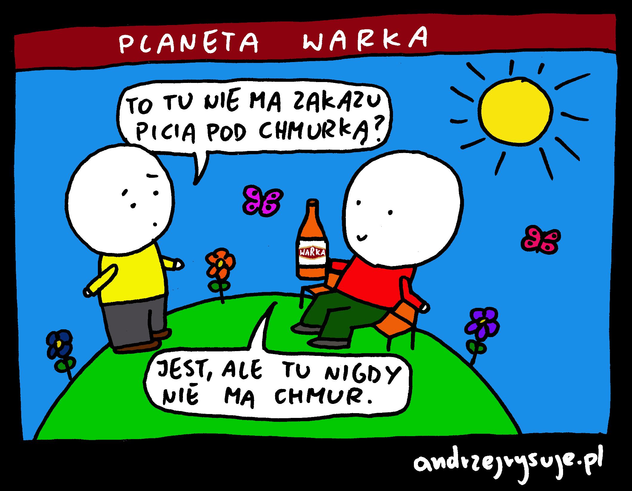 Planeta Warka 1 butelka z logo