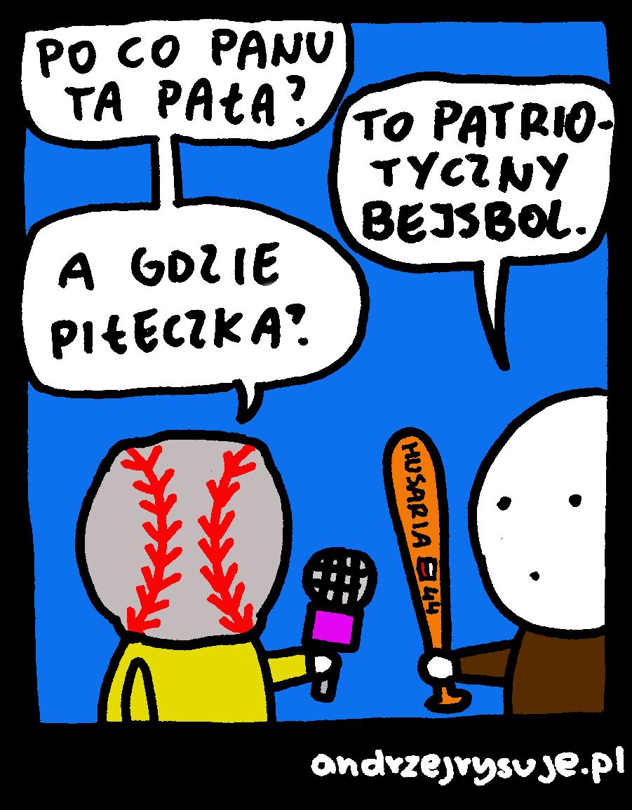 patriotyczne bejsbole